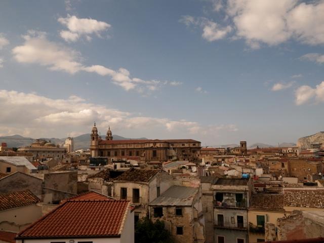 vue de notre terrasse - view from our terrace